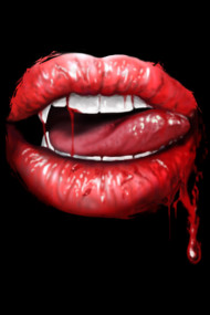 Blood Lips TShirts and Shirts for Halloween