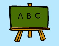 Dibujos de Pizarras para Colorear - Dibujos.net