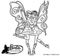 Dibujo de Dos hadas abrazadas para Colorear