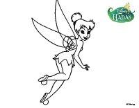 Dibujo de Hadas Disney