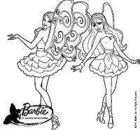 Dibujo de Hadas mgicas para Colorear - Dibujos.net