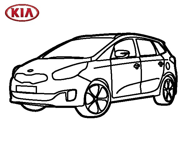 Mobile/kia Optima Coloring Pages Sketch Coloring Page