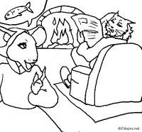 Dibujo de La ratita presumida 19 para Colorear - Dibujos.net