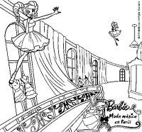 Dibujo de Las hadas mgicas de la moda para Colorear