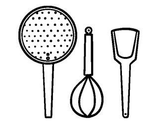 colorear cocina dibujos utensilios cucina utensili pintar colorare cuisine dibujo disegno ustensiles cuina estris els coloriage acolore colorier dibuix line