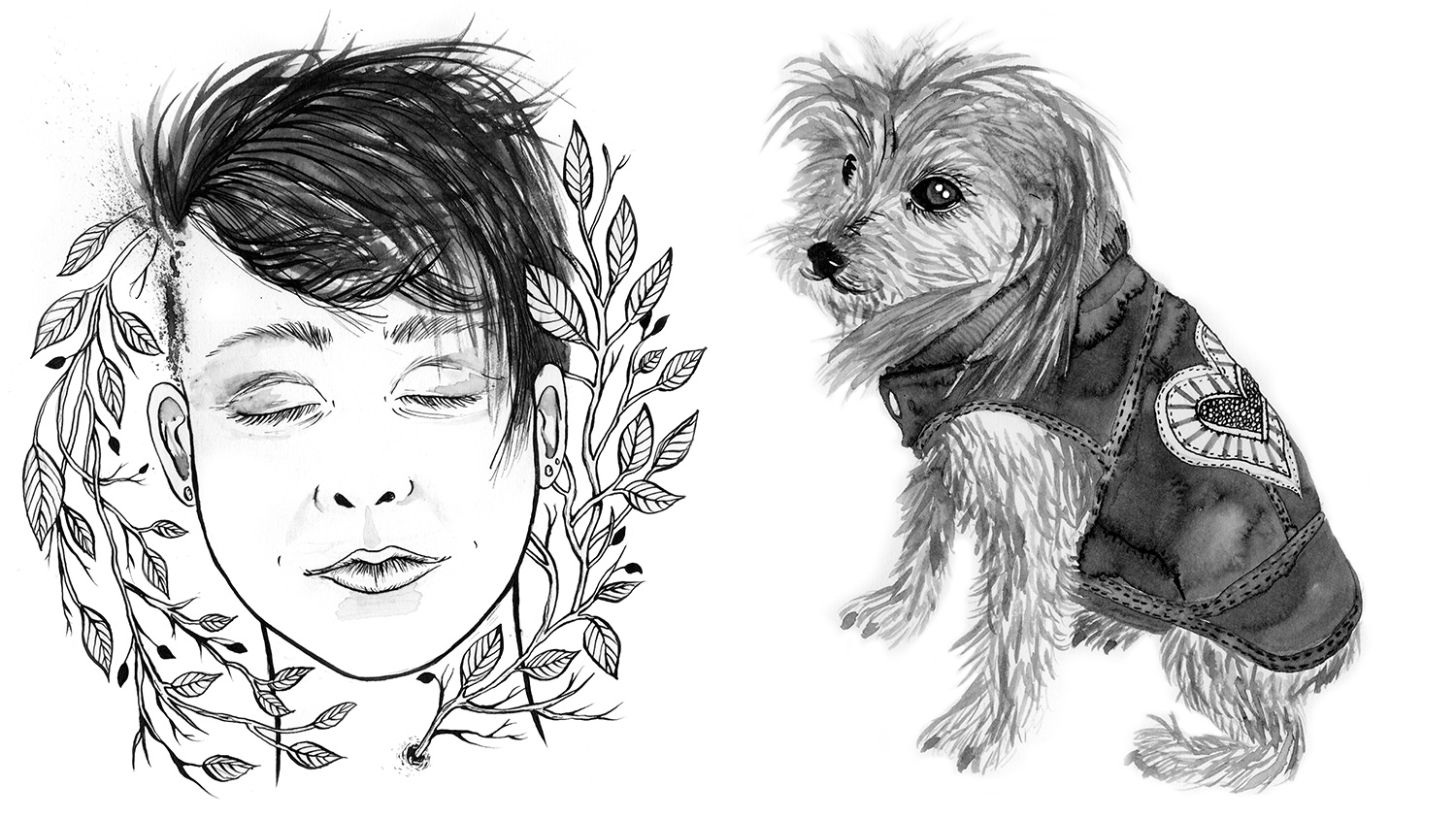 Sarah J Coleman draws 80 illustrations for Andrea Gibson's