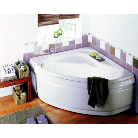 baignoire d angle gauche 120x120 cm 40 110 l blanc jacana angle