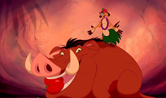 Hero Disney Timon and Pumbaa