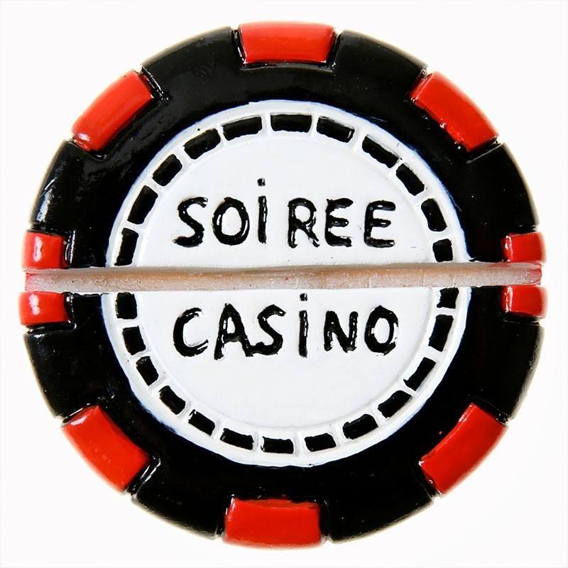 Le Marque Place Poker Rouge Et Noir Pour Mariage Thme