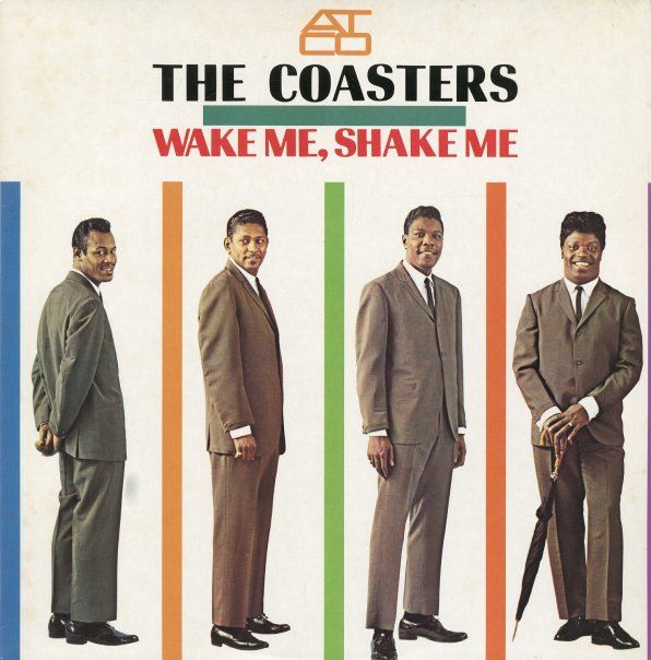 Coasters  Wake Me Shake Me (lp, Vinyl Record Album
