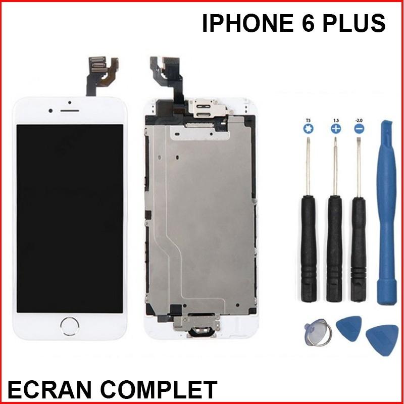 ecran iphone 6 plus blanc complet