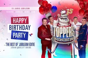 Toppers Concert  Toppers in Concert 2019 Happy Birthday Party 2 p  VakantieVeilingennl
