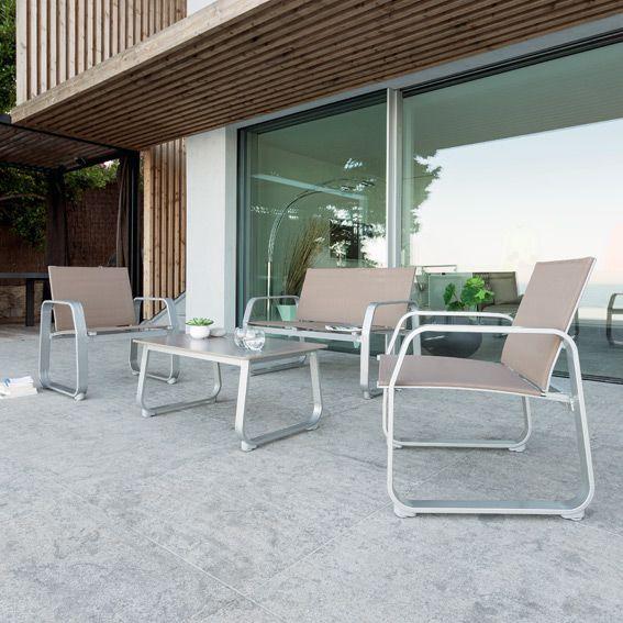 Stunning Salon De Jardin En Aluminium Hesperide Photos - Awesome ...