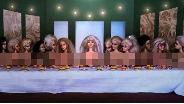 芭比亂入經典名畫…最後的晚餐變最後的裸體? | 薔妮老娘 | 鍵盤大檸檬 | ETtoday新聞雲