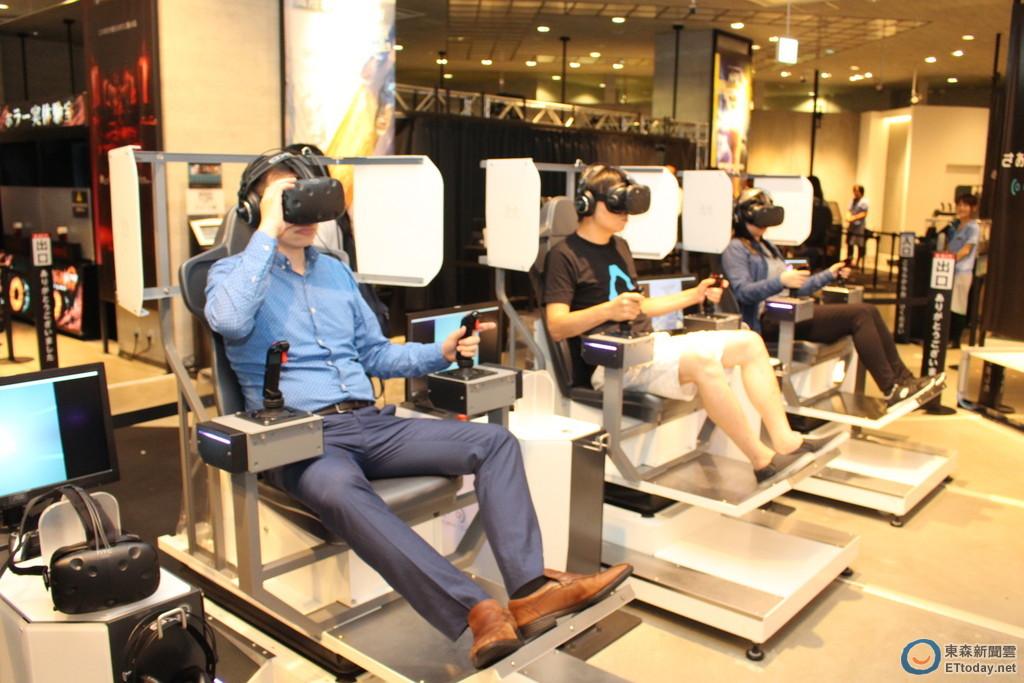 每天擠爆!東京臺場VR ZONE體驗VR大型機臺的未來 | ETtoday遊戲雲 | ETtoday新聞雲