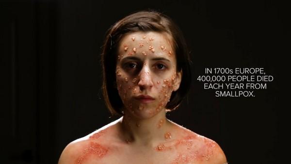 天花發起來的可怕…「疫病彩妝」模擬歷史上那些殺人惡疾 | 鍵盤大檸檬 | ETtoday新聞雲