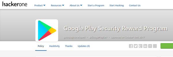 ▲Google祭出重金「抓蟲」!App漏洞抓到一個1000美元(圖/翻攝 HackerOne)