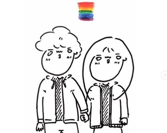 插畫家描繪同志情侶一路走來的日常 「被對方家人認可的感覺。真好!」   ET Fashion   ETtoday新聞雲