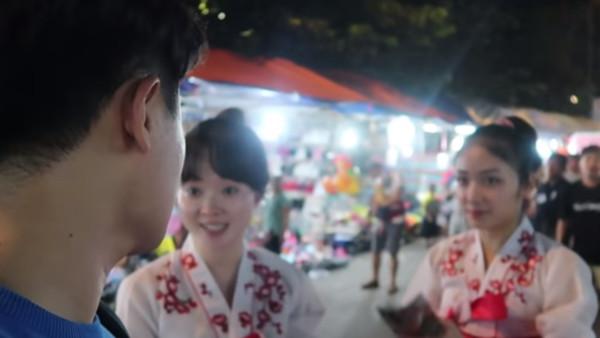 旅行遇上北韓女孩!南韓YouTuber上前搭訕 脫北者:我們的願望是統一 | 連凱莉 | 鍵盤大檸檬 | ETtoday新聞雲