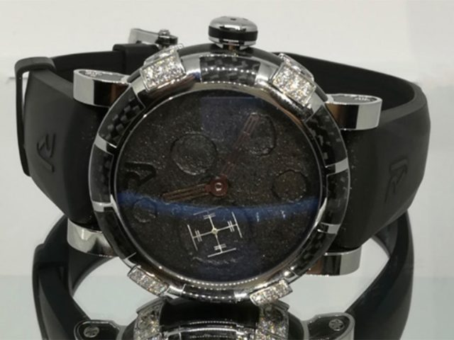 Reloj de la marca Romain Jerome con costo de $179,900