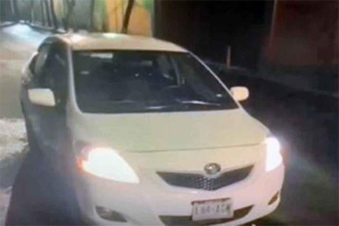 El vehículo de Norberto fue abandonado en el camino a su casa.