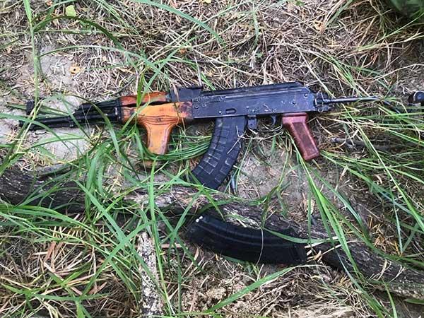 Las nueve personas abatidas por los elementos de la Sedena usaban armas de grueso calibre, chalecos antibalas y portaban vestimenta tipo militar. Foto: Especial