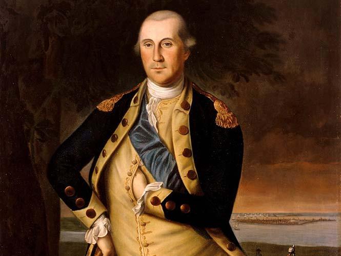 Resultado de imagen para Fotos de la entrada triunfal de George Washington, al frente de sus tropas a Nueva York