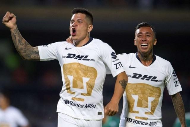Juan Iturbe firmó los dos primeros tantos auriazules. (Mexsport)