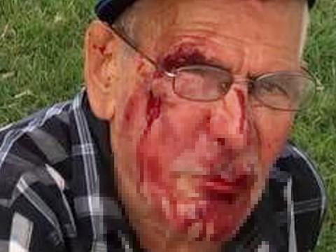 Arrestan a mujer que golpeó a mexicano de 91 años en EU (Foto: AP)