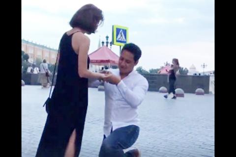 Mexicano Rusa Matrimonio, Mundial Rusia, Mexicano Rusa, Se Casan,