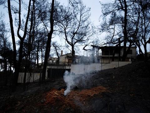 Ministro griego renuncia tras tragedia por incendios forestales (Foto: Reuters)