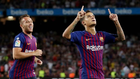 Coutinho, Barcelona, Messi, Alavés,