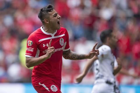 Gol Alexis Vega Toluca Xolos