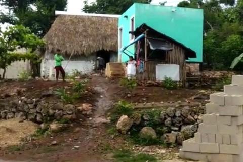 La comunidad de Tahdziú tiene 5 mil habitantes aproximadamente; esta población maya es considerada una de las más pobres y de marginación en el estado. Foto: Cortesía Reporteros Hoy