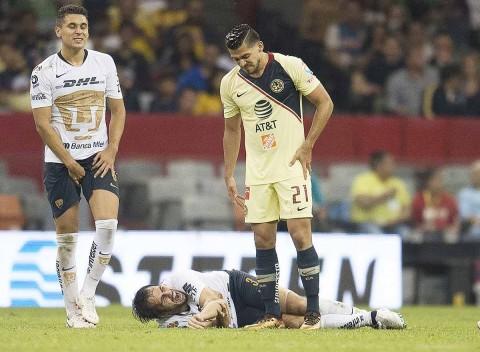 Alejandro Arribas, Lesión Codo, América Pumas, Estadio Azteca,