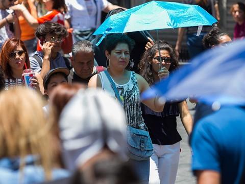 Se pronostican temperaturas máximas de 40 a 45 grados en sitios de Baja California, Sonora, Sinaloa y Michoacán. Foto: Cuartoscuro