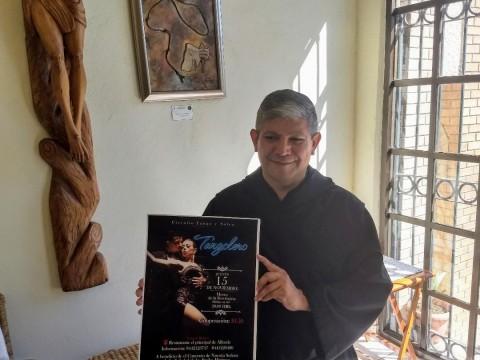 El padre Javier Solís, de la Orden de los Frailes Mínimos, dijo que se está preparando un concierto para el próximo 15 de noviembre. Foto: Alma Gudiño/ Corresponsal