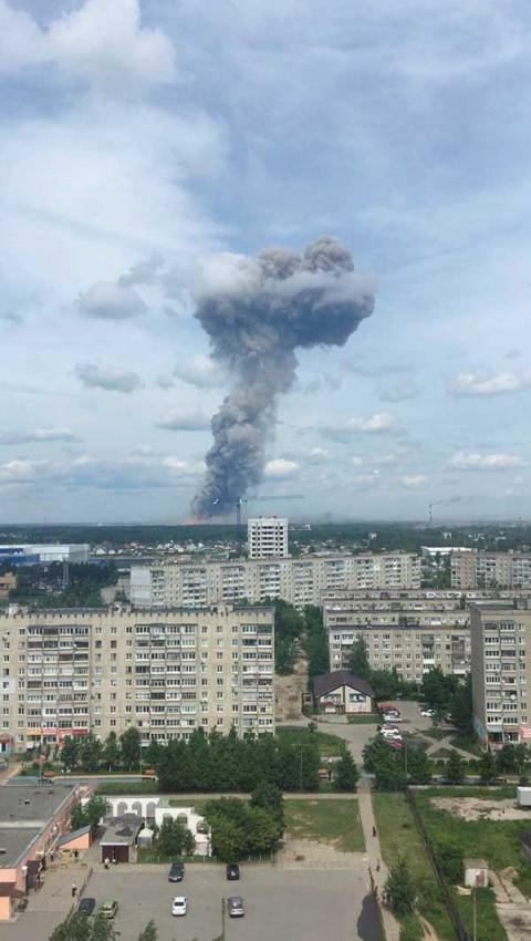 rusia heridos fabrica explosivos162019nota - 42 heridos en Rusia por accidente en fábrica
