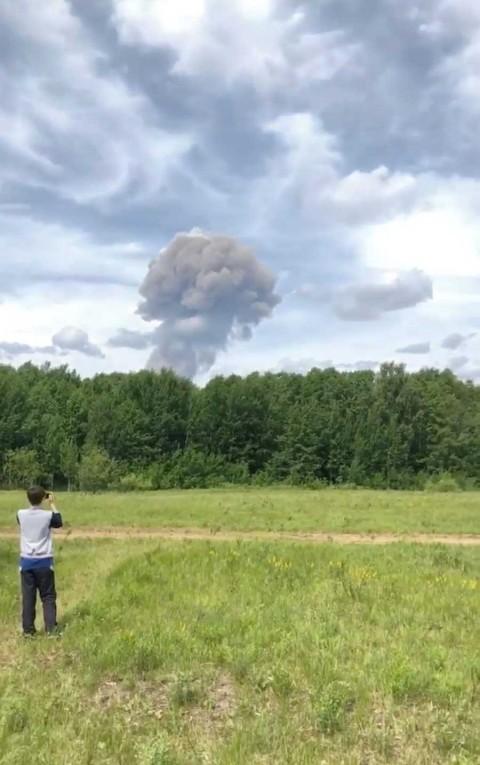 rusia heridos fabrica explosivos162019nota2 - 42 heridos en Rusia por accidente en fábrica