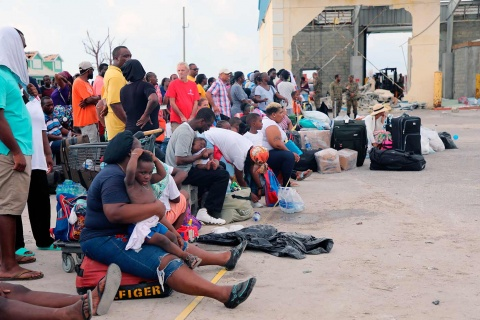 Van 50 muertos en Bahamas por 'Dorian'