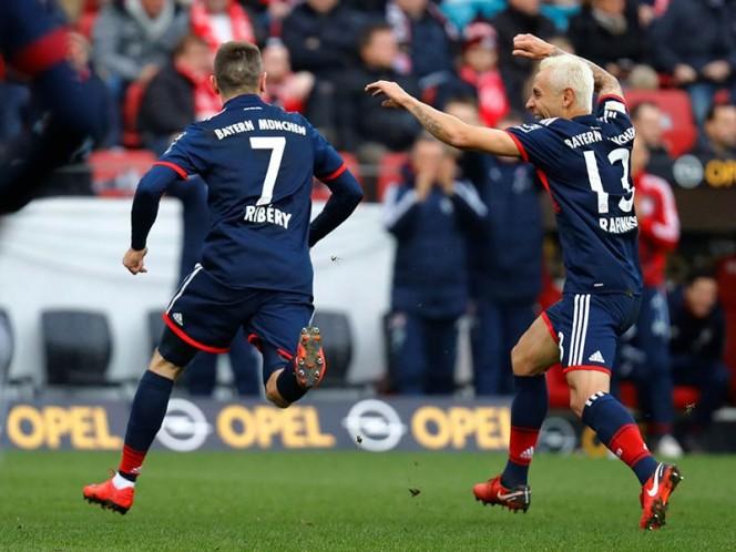 Ribery abrió el marcador para el Bayern Múnich