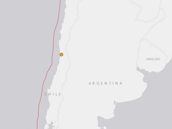 Sismo remece el centro de Chile