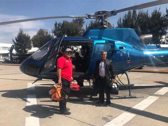 Trasladan 'Cóndores' a médicos de Michou y Mau a Pachuca