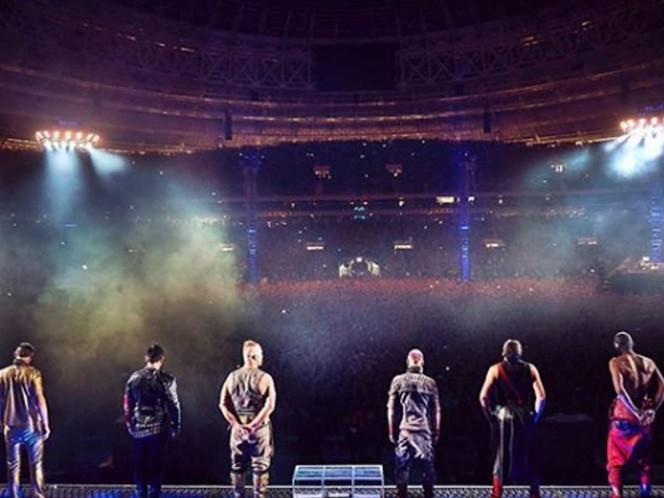 La agrupación se presentó en Moscú. Foto Instagram: rammsteinofficial