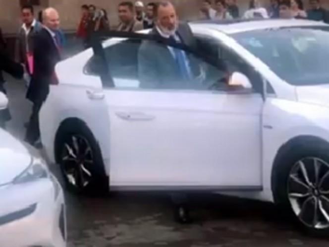 José Antonio Meade acude a Palacio Nacional