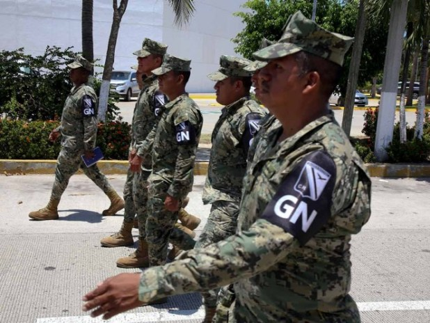 Los estados con mayor presencia de la guardia nacional son el Estado de México con 9 mil 141 efectivos; Michoacán con 3 mil 628 y Oaxaca con 3 mil 391. Foto: Cuartoscuro