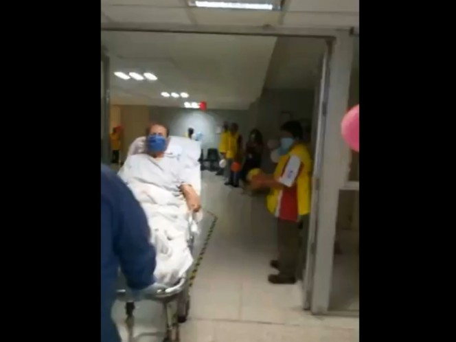 96-year-old patient beats Covid-19 in Querétaro