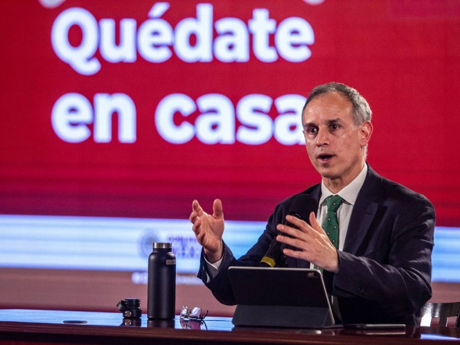Hugo López-Gatell reiterated the recommendation made since the Covid-19 pandemic began;  that is, not being in proximity and keeping a healthy aquatic distance.  Photo: Dark Quarter