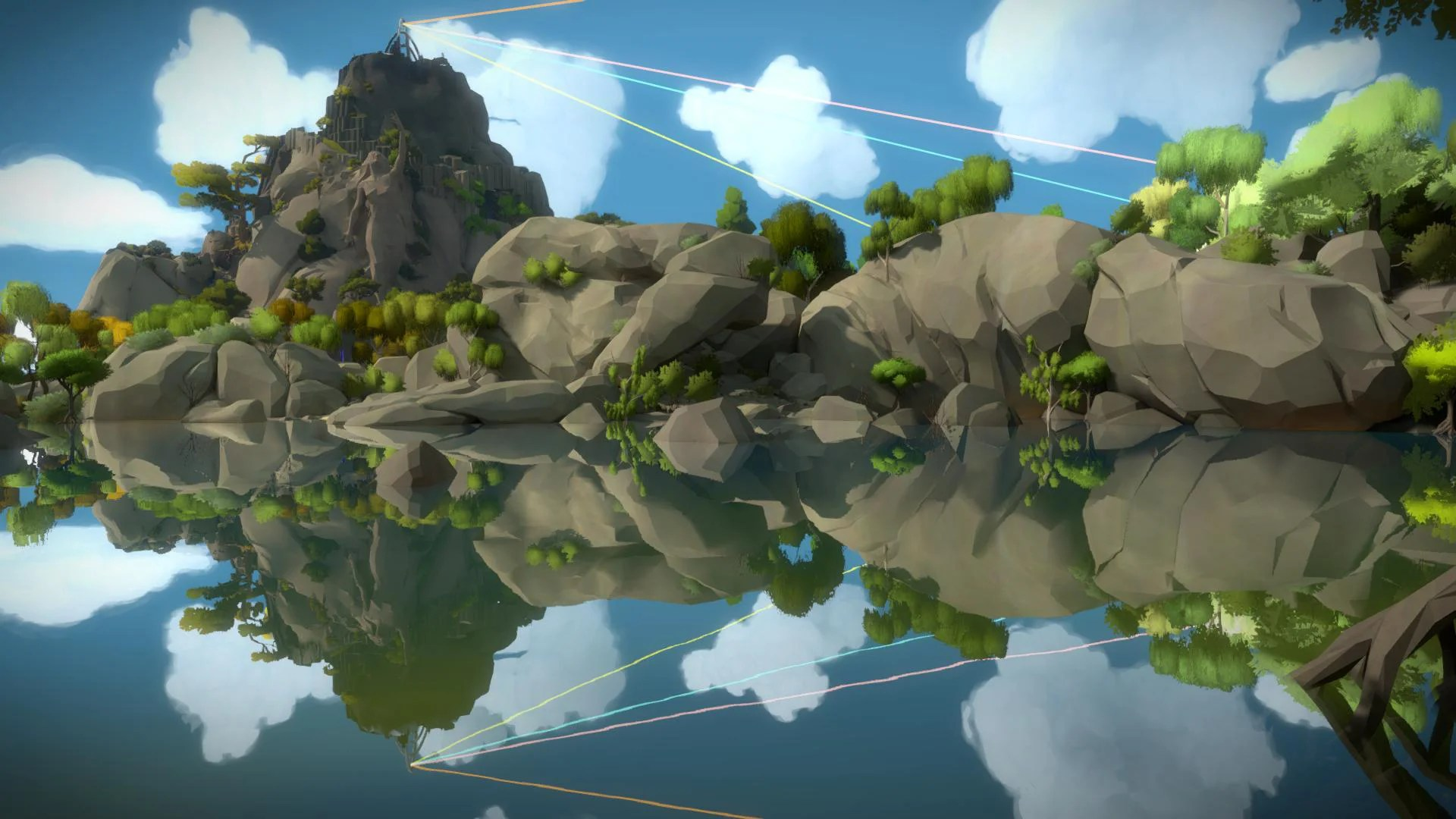 3d Space Wallpaper Uk Explore The Puzzling World Of The Witness In April 2018 S