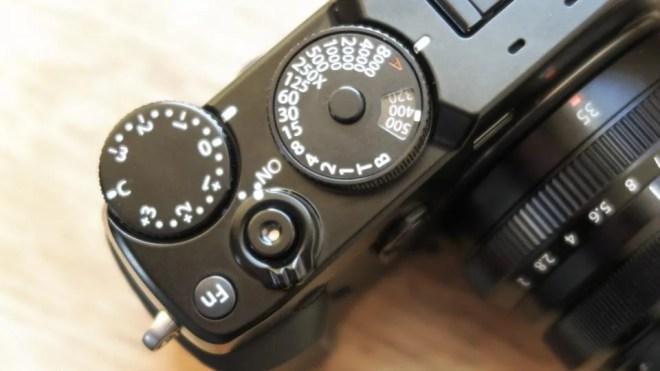 Fujifilm X-Pro2 dials